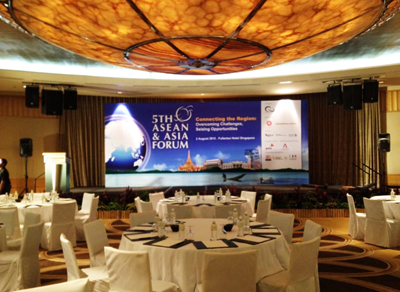 Stage Backdrop Singapore Event Backdrop Singapore