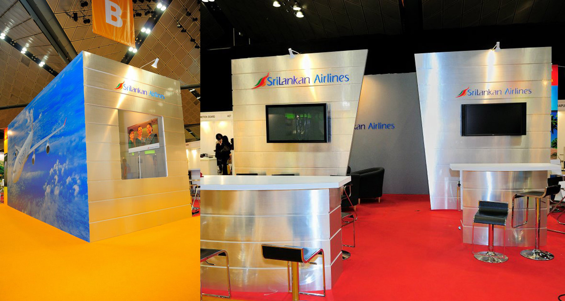 Exhibition Booth Printing : Exhibition booth design portable trade show exhibit