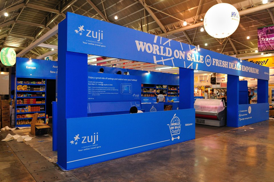 Exhibition Booth Supplier Singapore : Exhibition booth design portable trade show exhibit